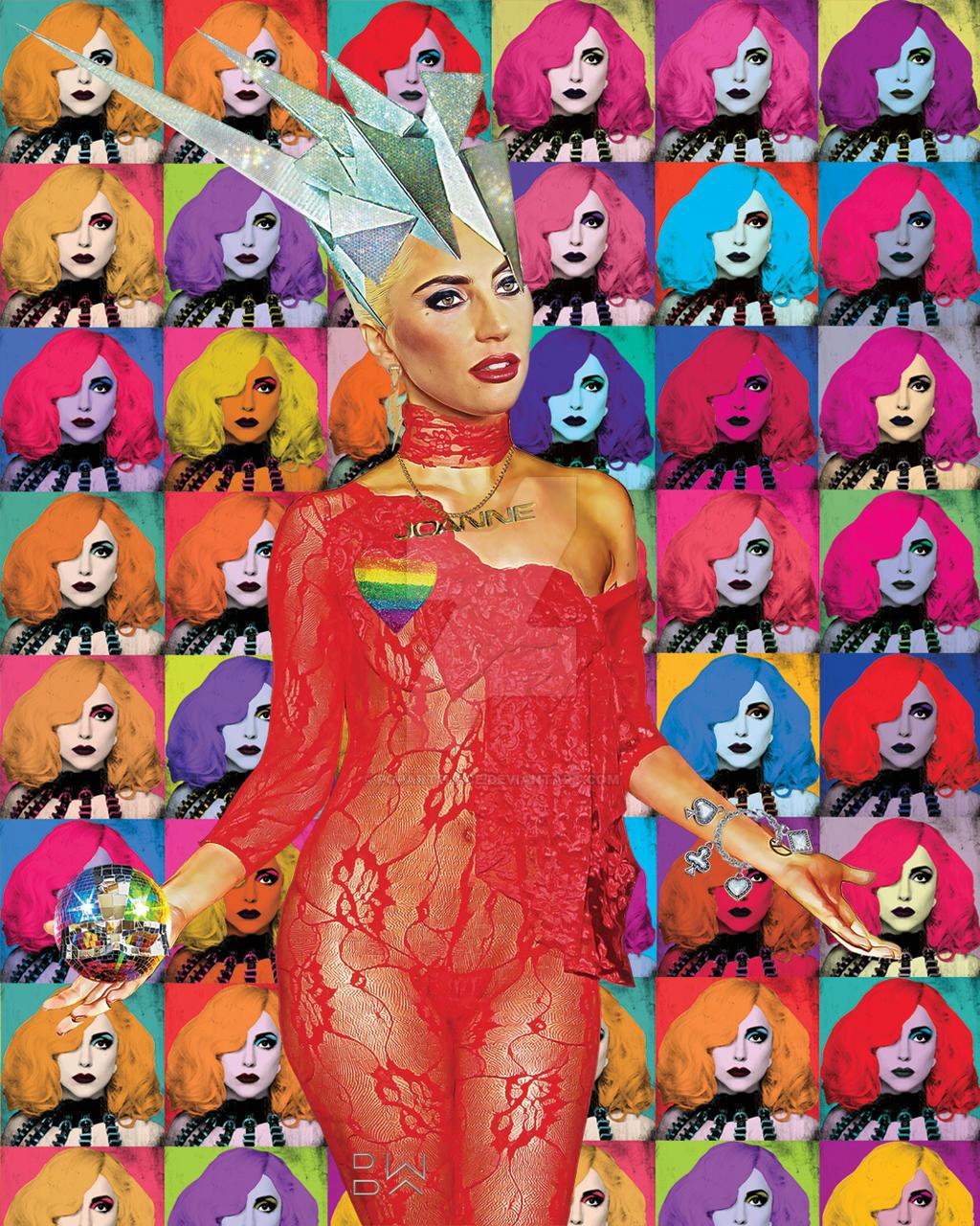 'Lady Fame POP' by popartplace