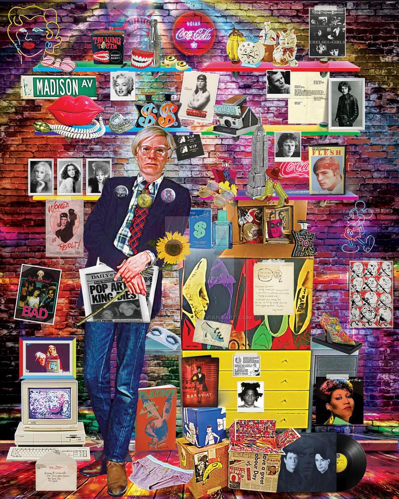 'Mr Warhola' by popartplace