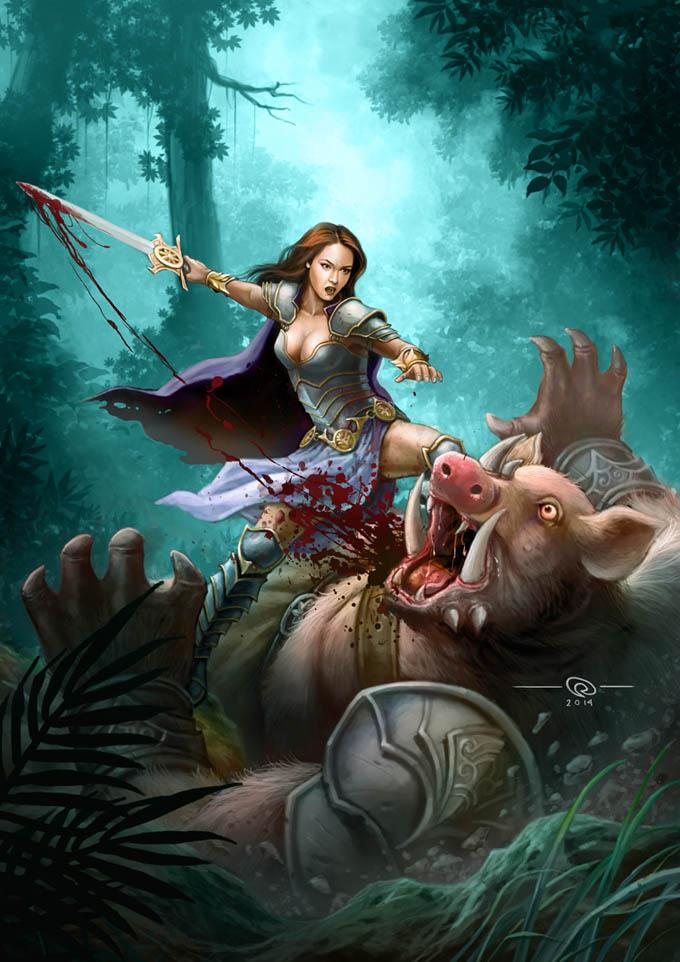 Pemburu Celeng by kumbalaseta