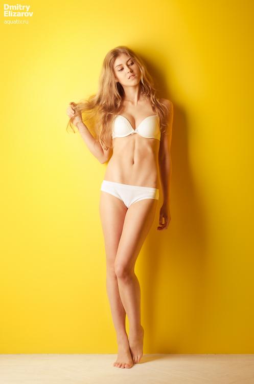White into yellow by DmitryElizarov