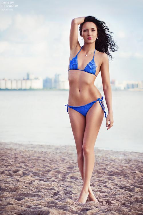 Blue bikini by DmitryElizarov
