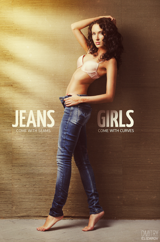 Jeans and girls, day by DmitryElizarov
