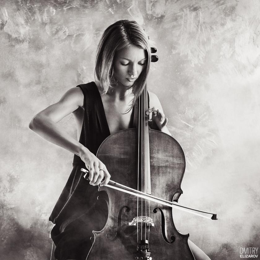 Prelude by Bach by DmitryElizarov