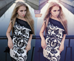 Purple bridge #1 (before and after) by DmitryElizarov