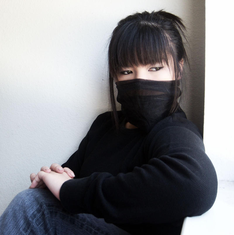 Ninja girl by praguypet on DeviantArt