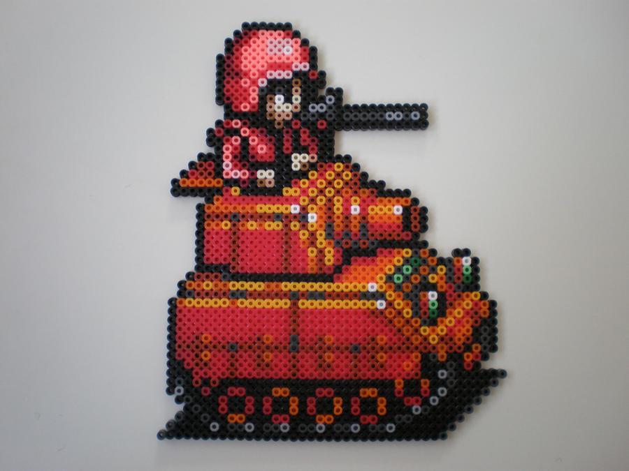 TANQUE GUERRA Advance_wars_light_tank_by_8_bitbeadsstudio-d35173b