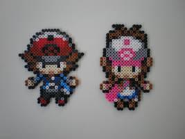 Pokemon Trainers No.2 by 8-BitBeadsStudio