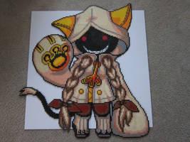 Taokaka by 8-BitBeadsStudio