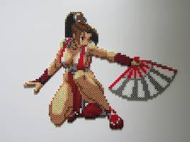 Mai Shiranui by 8-BitBeadsStudio
