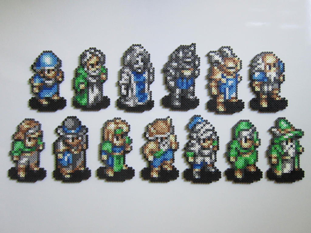 Tactics Ogre Male Classes by 8-BitBeadsStudio on DeviantArt