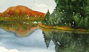 River mirroring