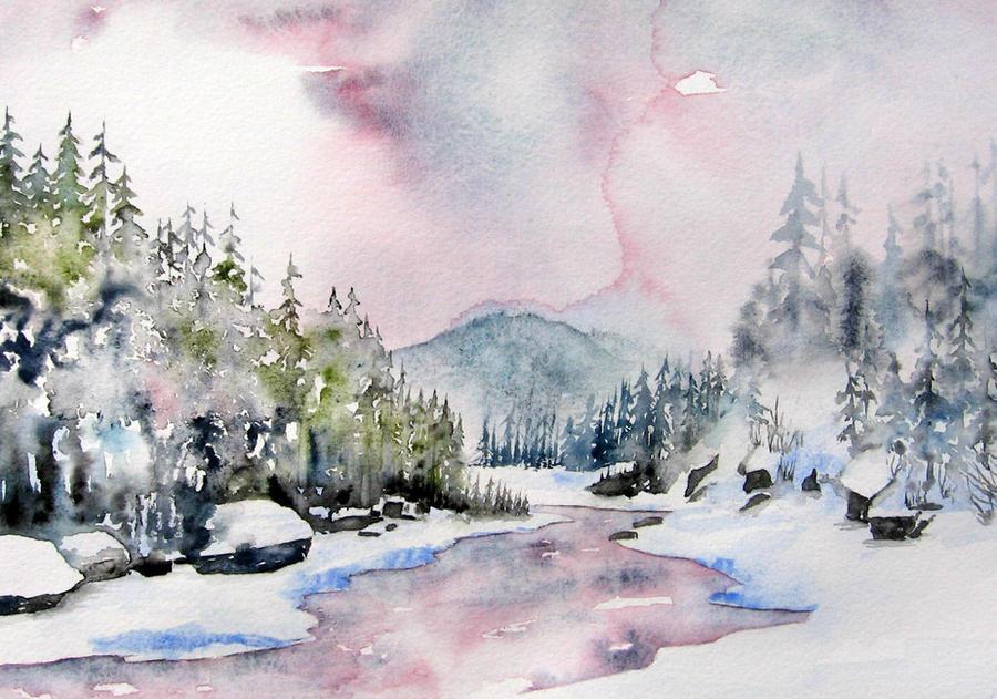 Fondation de l'hiver by BlueCaroline