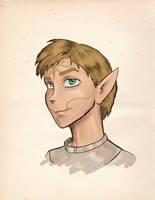 DA:O Sketch, Tamlen by bukittyan