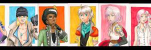 FFXIII Sketchcard set