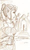 DA:O Final Farewell sketch by bukittyan