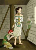 DA:O Wedding Dress by bukittyan