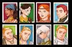 DA2 Sketchcard set Companions
