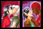 Lovey dovey sketchcards