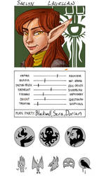 Saelyn Lavellan by bukittyan