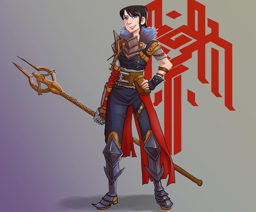 Champion Marian Hawke by bukittyan