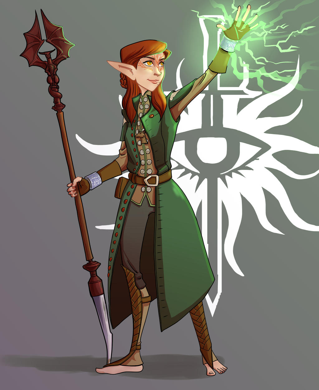 Inquisitor Saelyn Lavellan by bukittyan