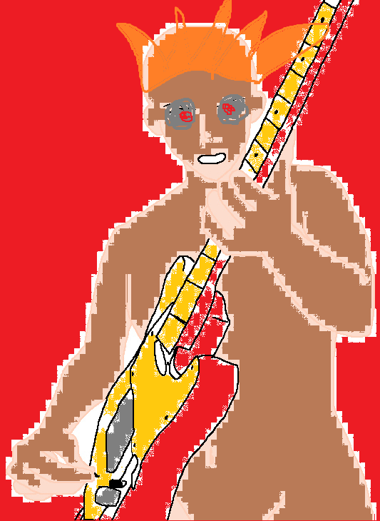 Me With Guitar by Sonicboy2007