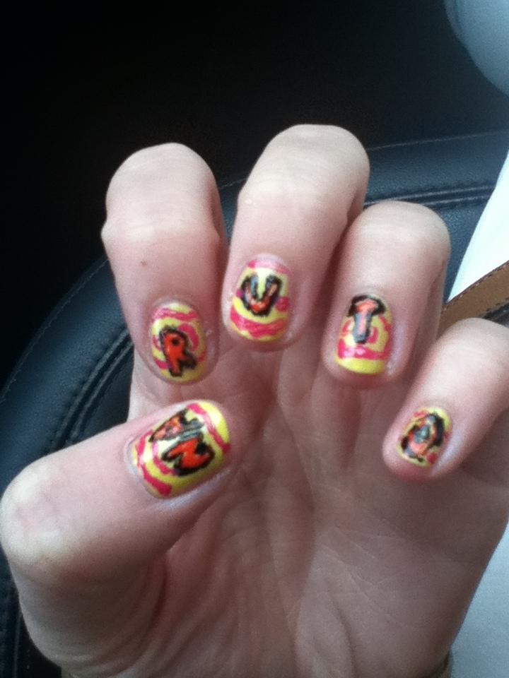 Famous Naruto Nail Art Images - Nail Art Ideas - morihati.com