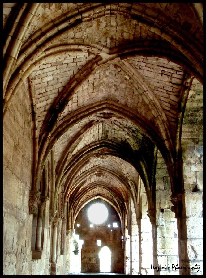 Inside Al-Hessen Citadel by HazemSultan