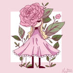 Flower gorl l
