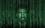 Chuck Norris in matrix code
