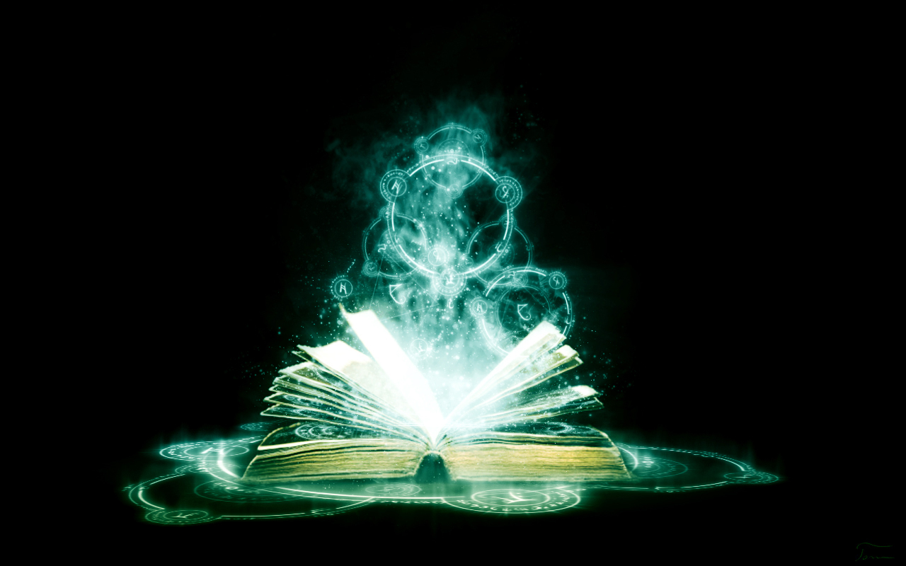 the book of magic by tomhotovy on deviantart