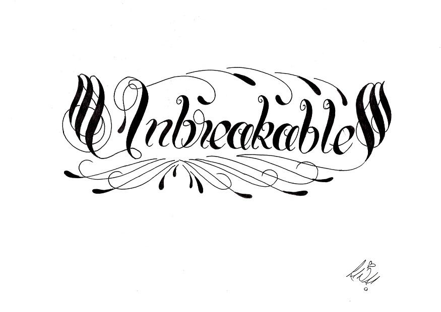 unbreakable by creativecursekina on deviantart. Black Bedroom Furniture Sets. Home Design Ideas
