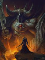 Against Evil 1 by MaxDonio