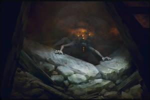 In the dark by MaxDonio
