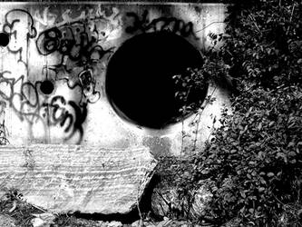 Empty Tunnel by auricstormcloud