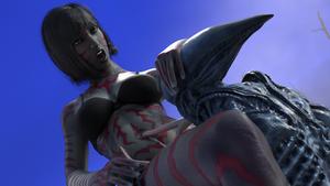 Alien navel probing