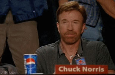Chuck norris approves gif by merovech1