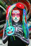 Sugar Skull Body Paint I