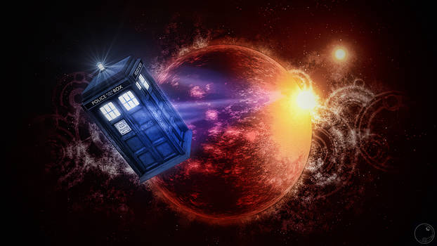 Tardis leaving 2