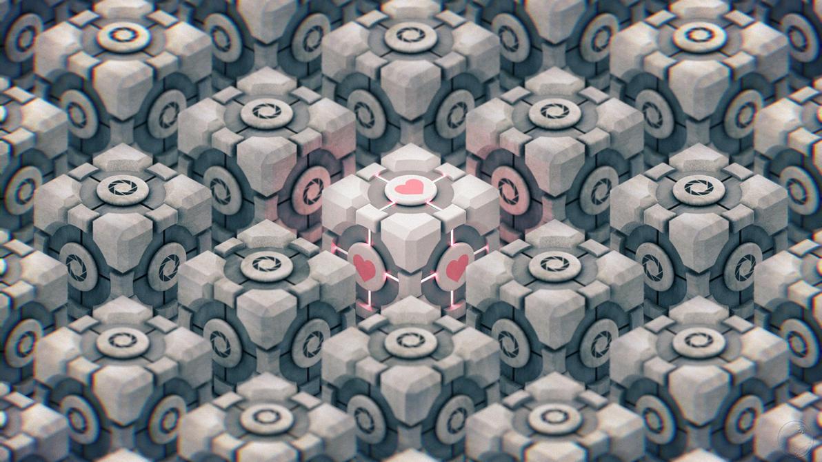 Portal Cubes by Guile93