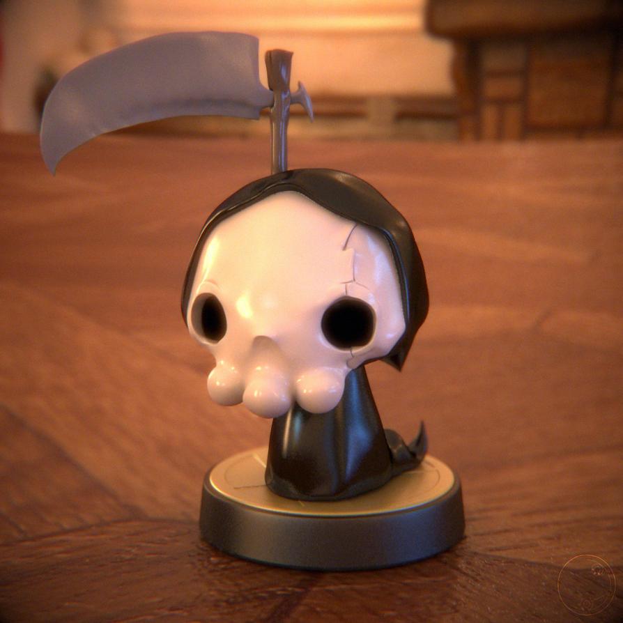La Petite Mort 3D Amiibo by Guile93