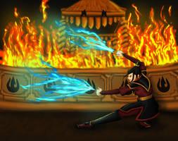 Avatar - Fire Nation Prodigy by Aiyakiu