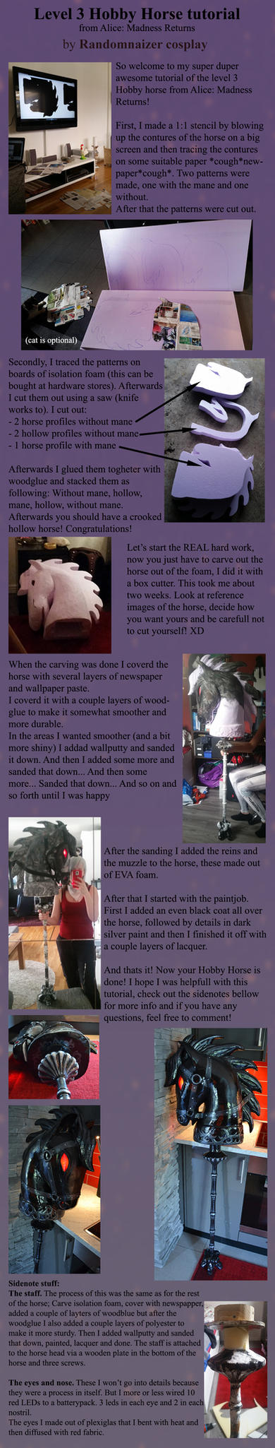 Hobby Horse Tutorial by Randomnaizer