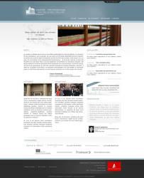 Paris law school web interface proposal 1