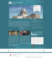 Paris law school web interface proposal 2