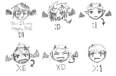Benji - Chibi Emotes by yagi-san