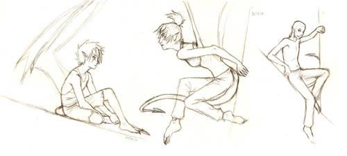 Benji sketches by yagi-san