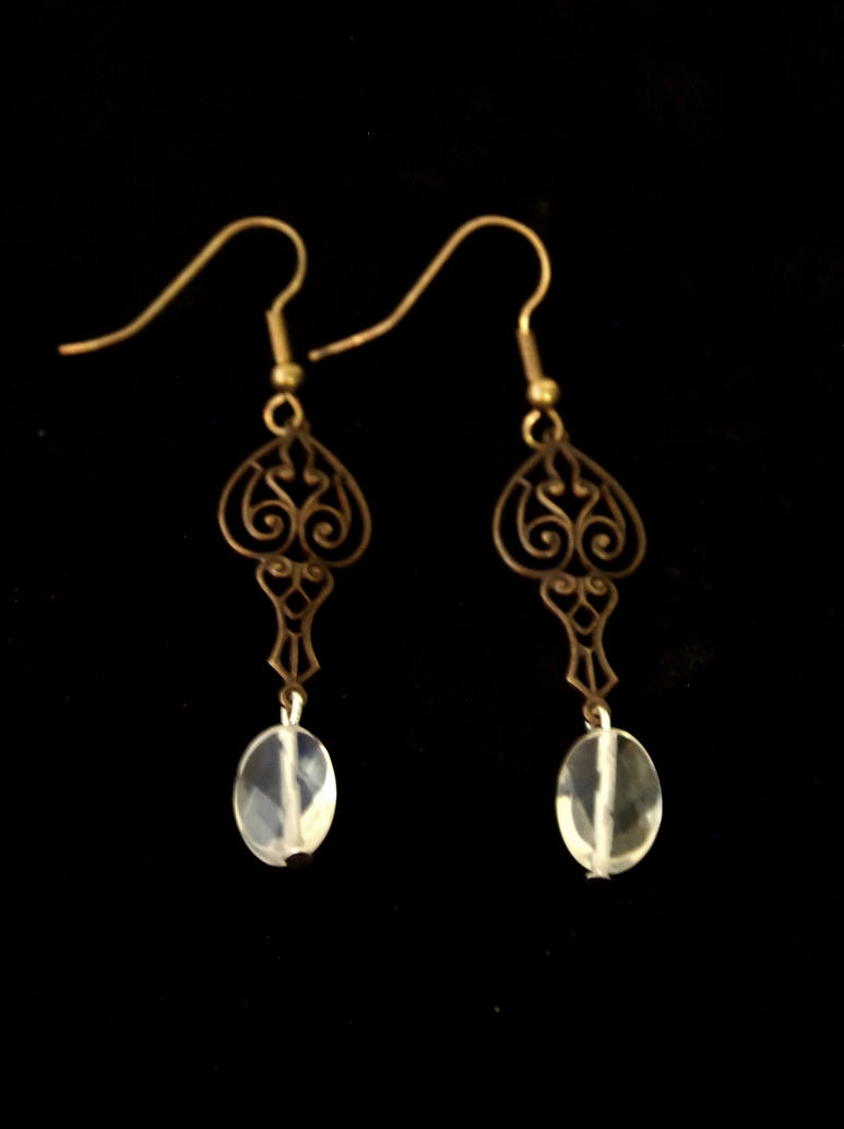 Victorian Beauty Earrings by TheJugulateJeweler