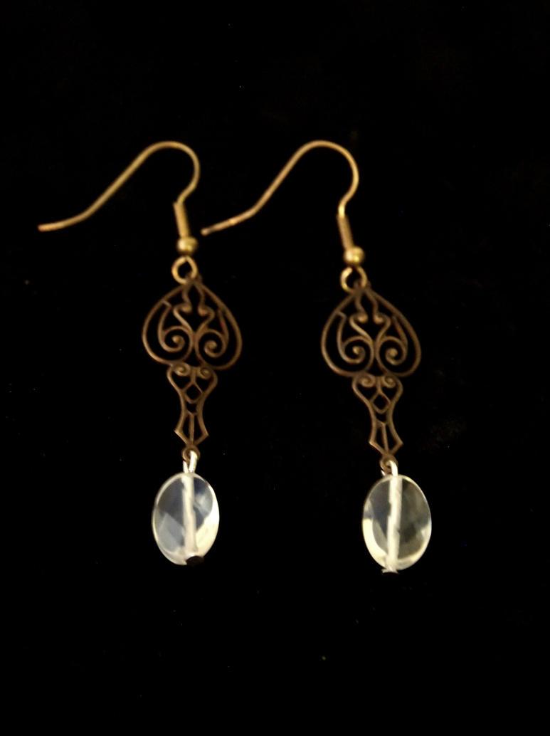 Victorian Beauty Earrings by TheJugulateJeweler
