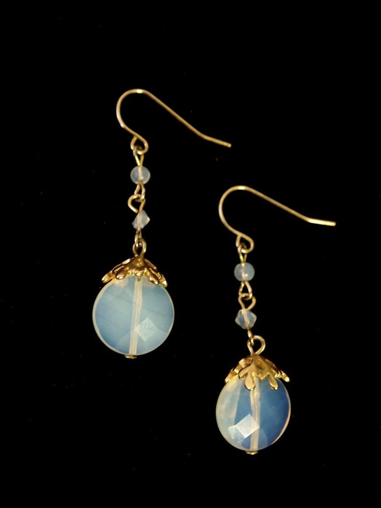 Dewdrop Earrings by TheJugulateJeweler